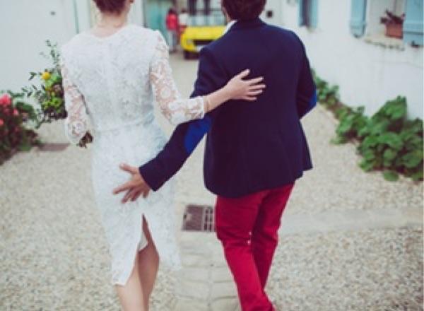Tocando culo novia preboda